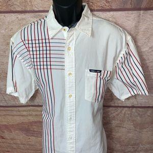 Vintage Tommy Hilfiger Button Down Shirt Men's L